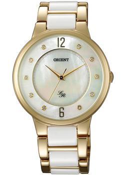 Японские наручные  женские часы Orient QC0J004W. Коллекция Lady Rose