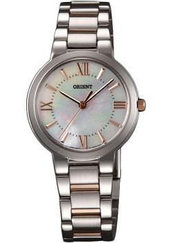 Японские наручные  женские часы Orient QC0N002W. Коллекция Dressy Elegant Ladies