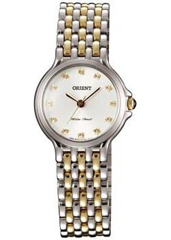 Японские наручные  женские часы Orient QC0V006W. Коллекция Dressy Elegant Ladies
