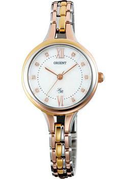 Японские наручные  женские часы Orient QC15001W. Коллекция Ювелирная коллекция
