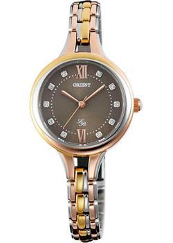 Японские наручные  женские часы Orient QC15002K. Коллекция Ювелирная коллекция
