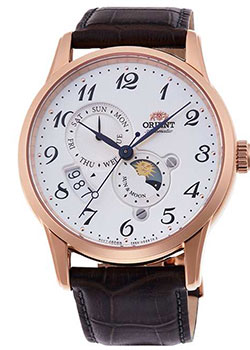 Японские наручные мужские часы Orient RA-AK0001S10B. Коллекция Classic Automatic фото