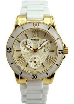 Японские наручные  женские часы Orient SX05001W. Коллекция Dressy