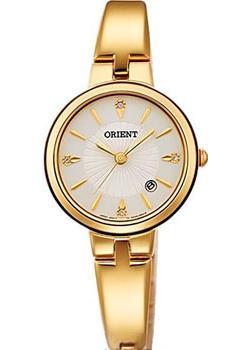 Японские наручные  женские часы Orient SZ40003W. Коллекция Fashionable Quartz