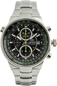Японские наручные мужские часы Orient TT15001B. Коллекция Sporty Chrono фото