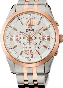 Японские наручные  мужские часы Orient TW04001W. Коллекция Sporty Quartz