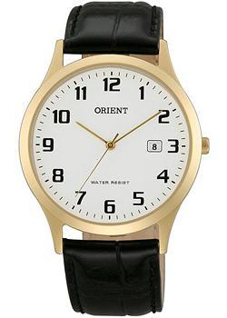 Японские наручные  мужские часы Orient UNA1002W. Коллекция Basic Quartz