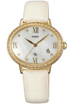 Купить Японские наручные женские часы Orient UNEK004W. Коллекция Lady Rose