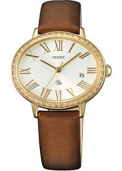 Японские наручные  женские часы Orient UNEK005W. Коллекция Lady Rose