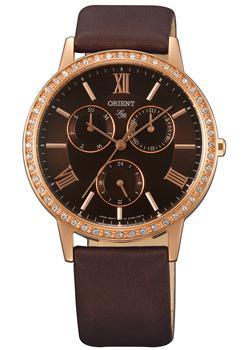 Японские наручные  женские часы Orient UT0H001T. Коллекция Lady Rose