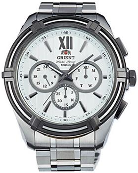 Японские наручные мужские часы Orient UZ01003W. Коллекция Sporty Quartz фото