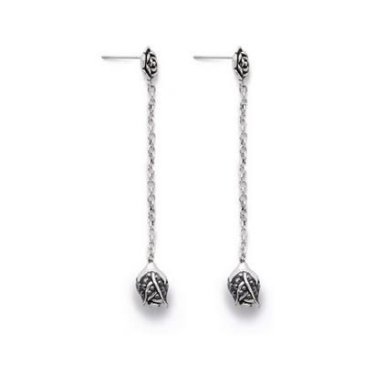 Серебряные серьги  MYS11502A
