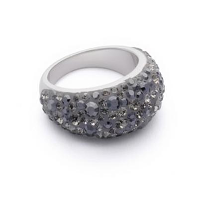 Серебряное кольцо  MYS2702B