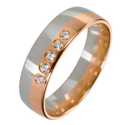 Серебряное кольцо  511885-br