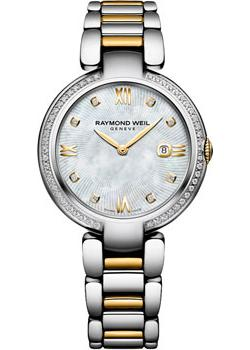 Швейцарские наручные  женские часы Raymond weil 1600-SPS-00995. Коллекция Shine
