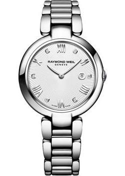 Швейцарские наручные  женские часы Raymond weil 1600-ST-00618. Коллекция Shine