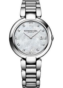 Швейцарские наручные  женские часы Raymond weil 1600-ST-00995. Коллекция Shine