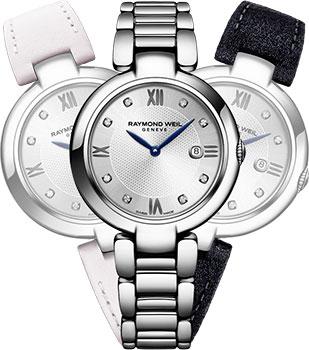Швейцарские наручные  женские часы Raymond weil 1600-ST-RE695. Коллекция Shine