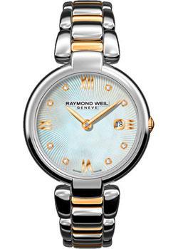 Швейцарские наручные  женские часы Raymond weil 1600-STP-00995. Коллекция Shine