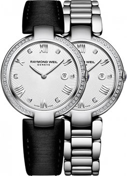 Швейцарские наручные  женские часы Raymond weil 1600-STS-00618. Коллекция Shine