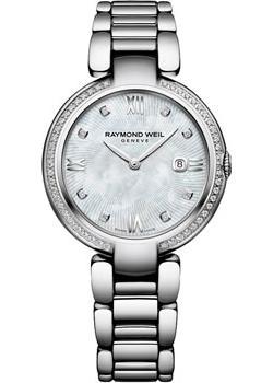 Швейцарские наручные  женские часы Raymond weil 1600-STS-00995. Коллекция Shine