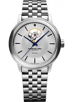 Швейцарские наручные  мужские часы Raymond weil 2227-ST-65001. Коллекци Maestro