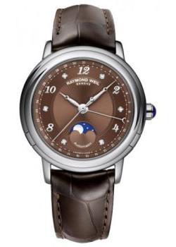 Швейцарские наручные женские часы Raymond weil 2739-L2-05785. Коллекция Maestro