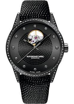 Швейцарские наручные  женские часы Raymond weil 2750-BK1-20089. Коллекция Freelancer