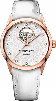Швейцарские наручные  женские часы Raymond weil 2750-PC5-30081. Коллекция Freelancer