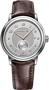 Швейцарские наручные  мужские часы Raymond weil 2838-SL5-05658. Коллекци Maestro