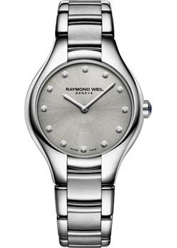 Швейцарские наручные  женские часы Raymond weil 5132-ST-65081. Коллекция Noemia