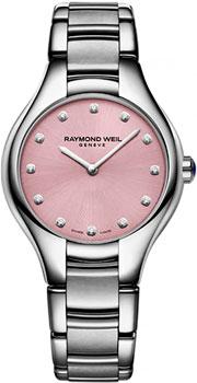 Швейцарские наручные женские часы Raymond weil 5132-ST-80081. Коллекция Noemia