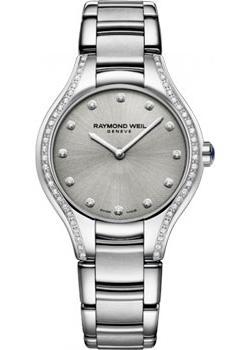 Швейцарские наручные  женские часы Raymond weil 5132-STS-65081. Коллекция Noemia