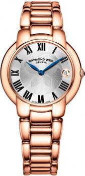 Швейцарские наручные  женские часы Raymond weil 5235-P5-01659-Strap. Коллекция Jasmine