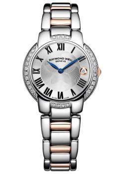 Швейцарские наручные  женские часы Raymond weil 5235-S5S-01659. Коллекция Jasmine