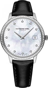 Швейцарские наручные женские часы Raymond weil 5388-SLS-97081. Коллекция Toccata