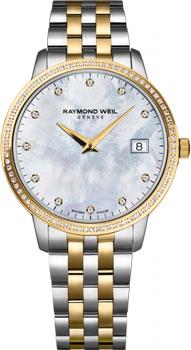 Швейцарские наручные  женские часы Raymond weil 5388-SPS-97081. Коллекция Toccata