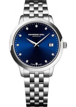 Швейцарские наручные  женские часы Raymond weil 5388-ST-50081. Коллекци Toccata