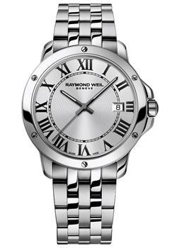 Швейцарские наручные мужские часы Raymond weil 5591-ST-00659. Коллекция Tango