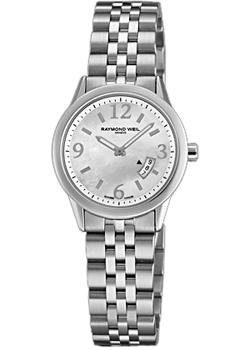 Швейцарские наручные  женские часы Raymond weil 5670-ST-05907. Коллекция Freelancer