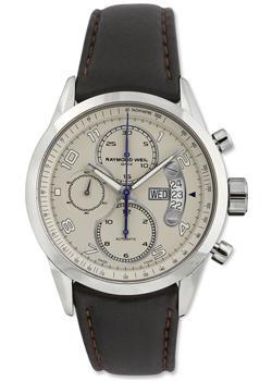 Швейцарские наручные  мужские часы Raymond weil 7730-STC-05650. Коллекци Freelancer