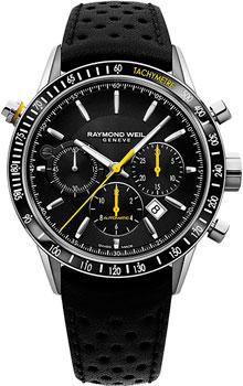 Швейцарские наручные мужские часы Raymond weil 7740-SC1-20021. Коллекция Freelancer