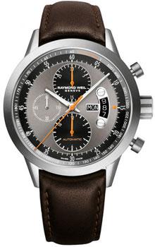 Швейцарские наручные  мужские часы Raymond weil 7745-TIC-05609. Коллекция Freelancer