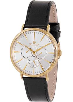 Российские наручные  мужские часы Romanoff 10564A1BL. Коллекция Platinum