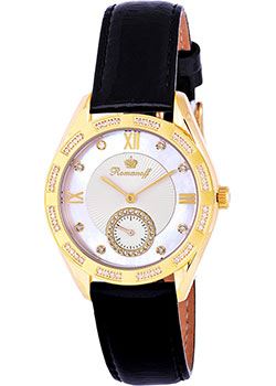 Российские наручные  женские часы Romanoff 10570A5BLL. Коллекция Carousel