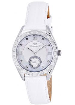 Российские наручные  женские часы Romanoff 10570G1WL. Коллекция Carousel