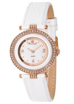 Российские наручные  женские часы Romanoff 40532B1W. Коллекция Slimmy