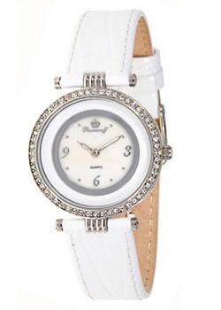 Российские наручные  женские часы Romanoff 40532G1W. Коллекция Slimmy