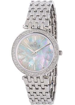 Российские наручные  женские часы Romanoff 40545G1. Коллекция Diamante