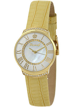 Российские наручные  женские часы Romanoff 4814A1GOL. Коллекция Angel